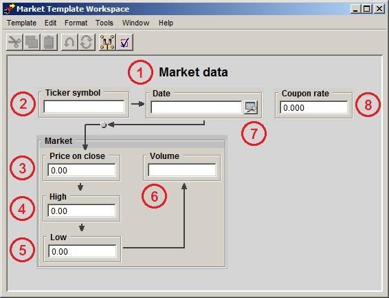 Market Data Template