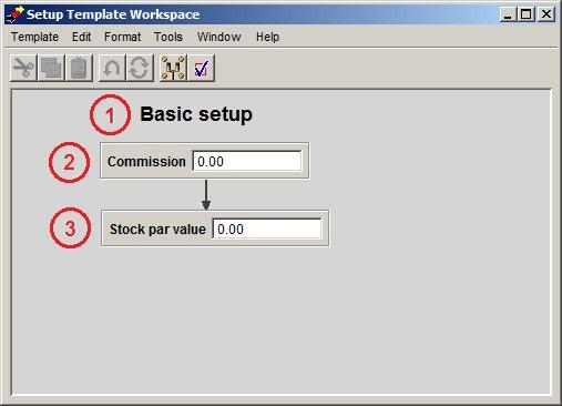 Setup template